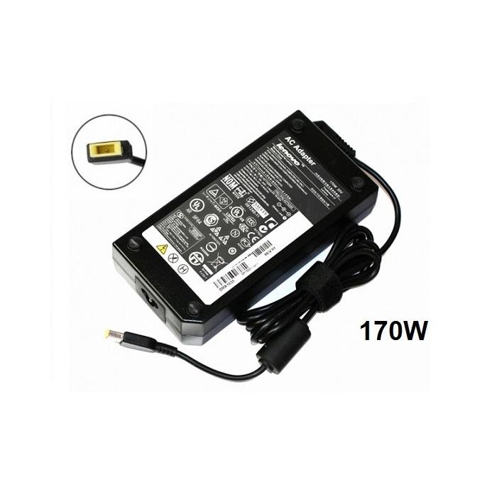 ספק כח שנאי חדש ואורגינלי ללפטופ לנובו LENOVO ADAPTER 20V 8.5A 170W SLIM TIP USB 4X20E50574
