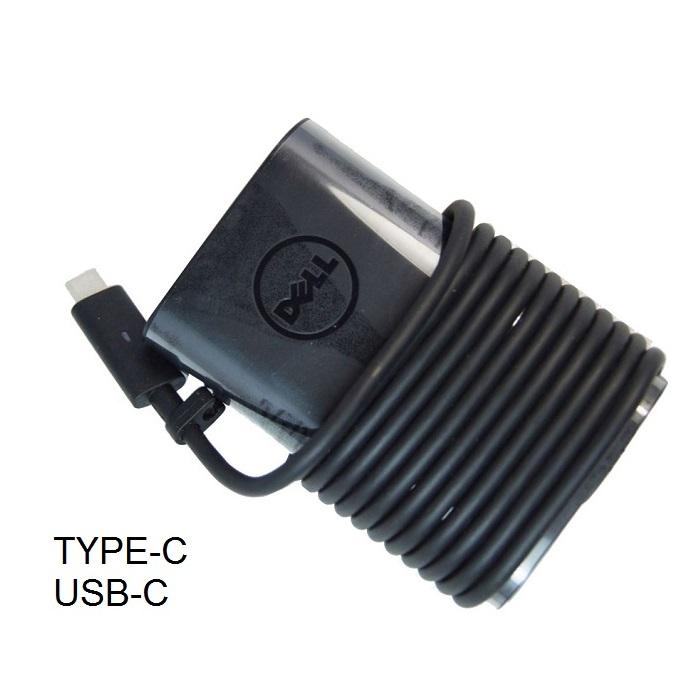 ספק כח שנאי חדש ואורגינלי ללפטופ דל DELL 5V 20V 2A 2.25A 45W TYPE-C USB-C 0HDCY5