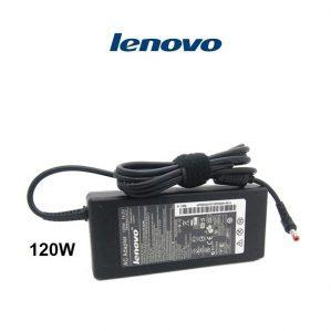 ספק כח/שנאי וכבל חשמל אורגינלי למחשב נייד לנובו LENOVO 19.5V 6.15A 120W 5.5x2.5mm