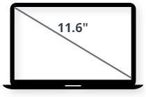 """מסך למחשב נייד 11.6"""""""