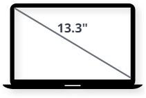 """מסך למחשב נייד 13.3"""""""