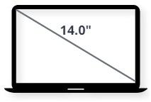 """מסך למחשב נייד 14.0"""""""
