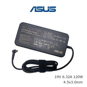 שנאי אורגינלי ללפטופ אסוס ASUS ORIGINAL ADAPTER 19V 6.32A 120W ADP-120RH B 4.5x3.0mm