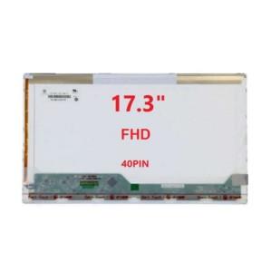 """מסך למחשב נייד """"17.3 1920x1080 FHD 40PIN LCD"""