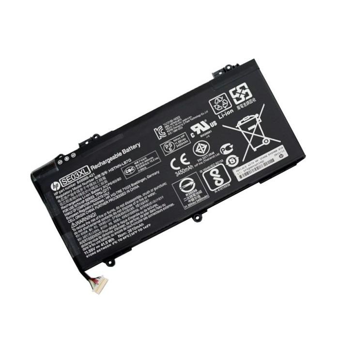 בטריה אורגינלית ללפטופ אייץ פי HP ORIGINAL BATTERY SE03XL 11.55V 3450MAH 41.5WH