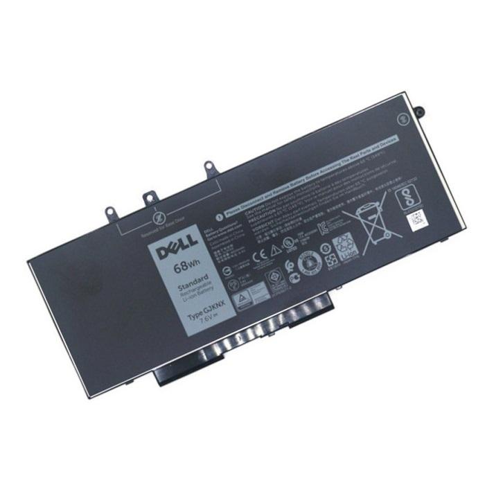 בטריה אורגינלית ללפטופ דל DELL ORIGINAL BATTERY GJKNX 7.6V 8500MAH 68WH