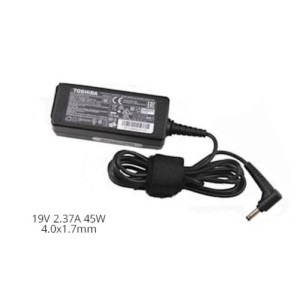 שנאי אורגינלי ללפטופ טושיבה TOSHIBA ORIGINAL ADAPTER 19V 2.37A 45W 4.0x1.7mm